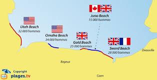 Plages du Débarquement en Normandie - Juin 1944
